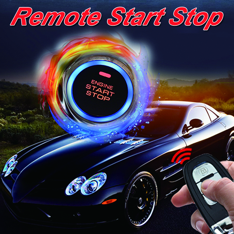 Cardot Best Passive Keyless Entry System Push Button Start Stop Remote Engine Start Smart Car Alarm