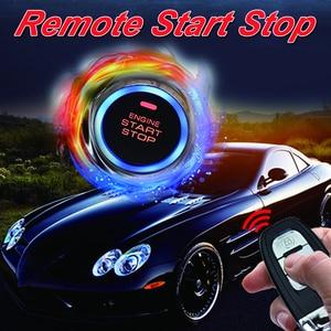 Image 2 - Cardot meilleur système dentrée sans clé passif bouton poussoir démarrage arrêt moteur à distance démarrage alarme de voiture intelligente