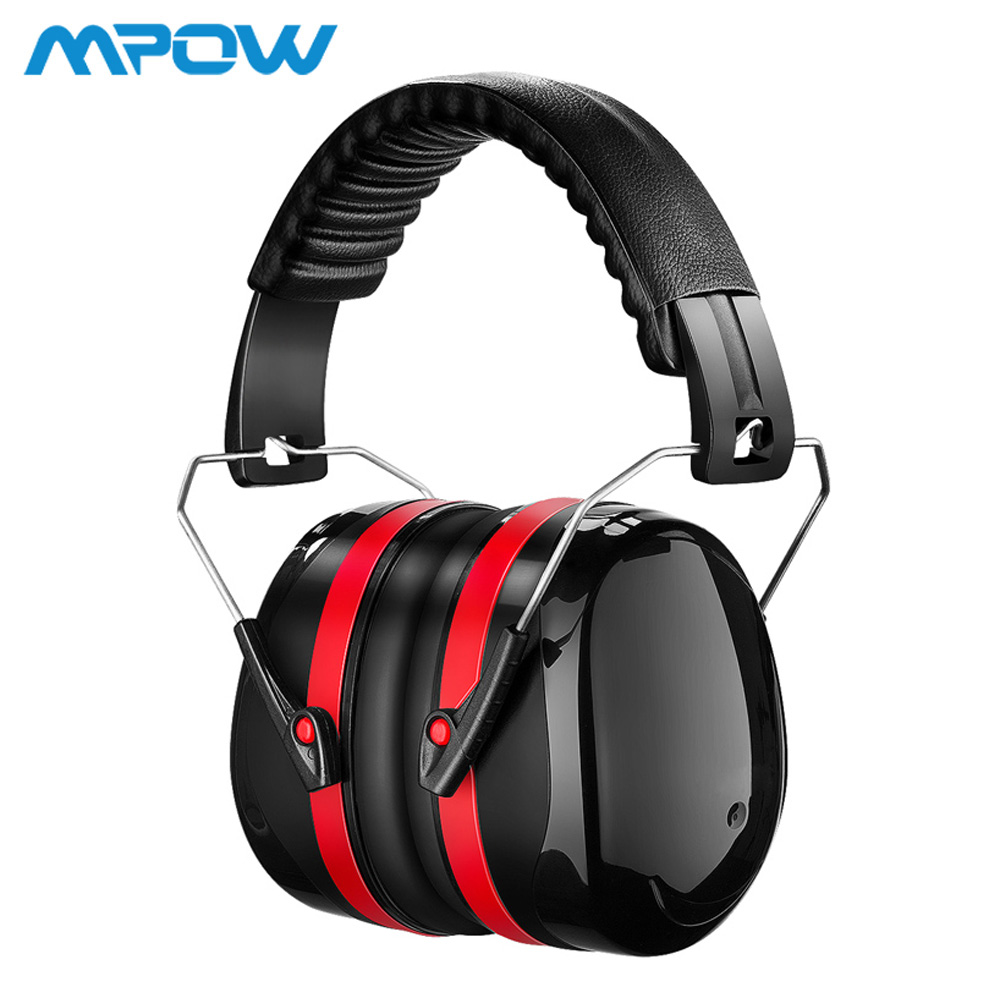 Mpow HM035 SNR 34dB Noise Reduction Safety Ear Muffs Hearing Protection Soft Foam With Carrying Bag For Kids Adults Shooting