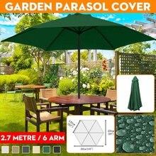 Canopy-Cover Sunshade Parasol SUN-SHELTER Garden-Umbrella Patio Outdoor Waterproof 270cm