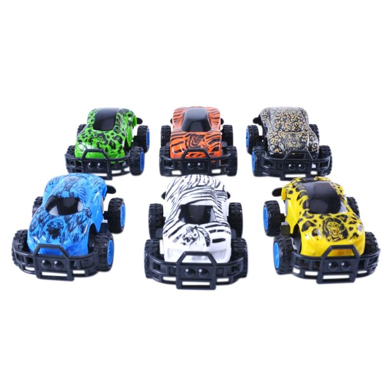 New-arrival Pressure Inertia Cars Toddler Educational Toys Funny Kids Mini Vehicle Car Children Birthday Gifts Color Random Z K