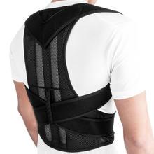 Correcteur de Posture réglable, Corset respirant, soutien du dos, épaule, attelle lombaire, correcteur droit pour hommes et femmes