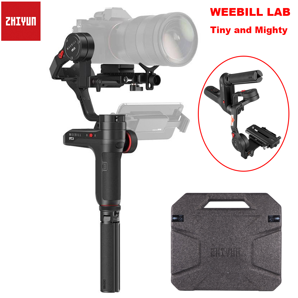 Zhiyun Weebill LAB 3-Axis Wireless Image Transm Camera Stabilizer For Mirrorless Camera OLED Display Handheld Gimbal Maxload 3Kg