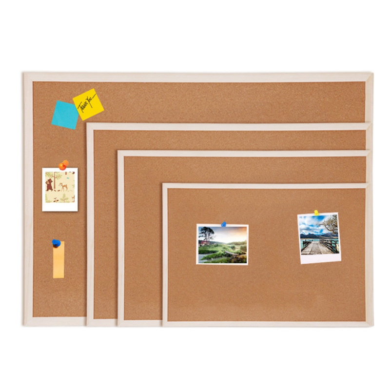 Decorative Board With Frame Cork Board Message Board Household Photo Wall Background Board