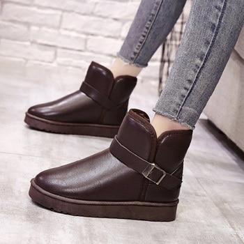 Dámske zateplené topánky – 4 farby