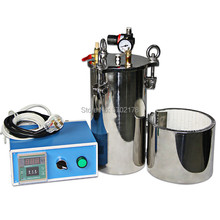 Glue Dispensing pressure barrel stainless steel with insulation heating temperature controller pressure tank glue stainless steel pressure tank with factory price