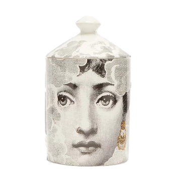Lady Face Jar DIY Empty Candle Holder Beauty Dressing Brush Pen Box with Lid Ceramic Storage Tin Flower and Bottle 11