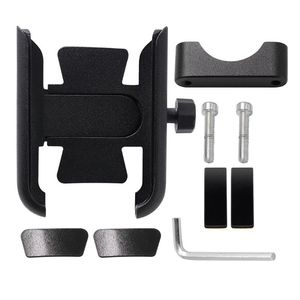 Image 2 - 360 Degree Universal Metal Bike Motorcycle Motorbike Mirror Handlebar Smart Phone Holder Stand Mount For iPhone Xiaomi Samsung 4