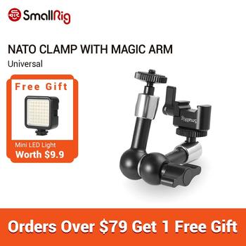 smallrig adjustable friction articulating magic arm with screw ball head and nato clamp ball head for director monitor support SmallRig Magic Articulating Arm (Nato Clamp - Quick Release Clamp ) for Monitor Support - 2028