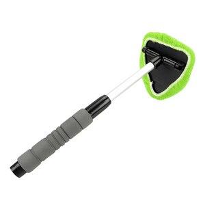 Image 4 - LEEPEE eliminador de niebla para ventana, limpiador de microfibra para limpieza de parabrisas de coche, cepillo telescópico de vidrio