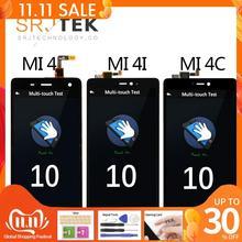 """5.0 """"תצוגה מקורית לxiaomi Mi4 LCD מסך מגע עם מסגרת עבור Xiaomi Mi4C LCD תצוגת Mi 4 4C 4i Mi4i LCD החלפה"""
