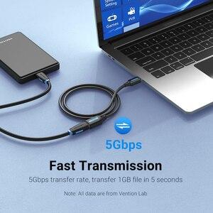 Image 2 - Vention USB Удлинительный кабель 3,0 папа мама USB кабель удлинитель данных Шнур для ноутбука ПК Smart TV PS4 Xbox One SSD USB к USB