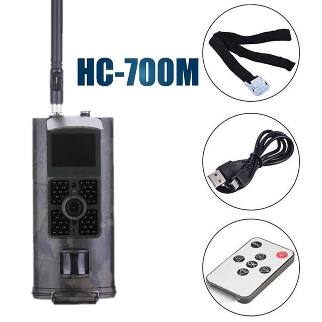 HC700M Cellular Hunting Camera 2G GSM MMS SMS SMTP Trail Camera Mobile 16MP Night Vision Wireless Wildlife Surveillance Cam|Hunting Cameras|   -