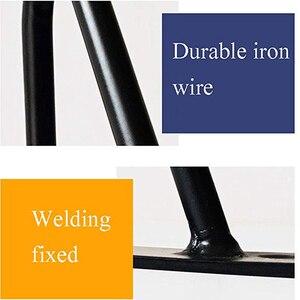 Image 4 - 4 יח\חבילה שולחן רגליים מתכת סיכת ראש ריהוט Ndustrial בסגנון פלדה מראש חורים שנקדחו לצורך התקנה קלה, 415mm
