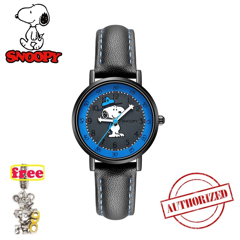 Top Brand SNOOPY Official Watch Boys Girls  Watch Classic Kids Watch Sports Casual Fashion Quartz Wristwatches Clock Snw840 2019