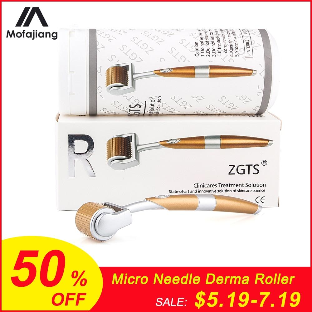 Micro Needle Derma Roller Titanium Tips 0.3/0.25/0.2mm Titanium Mesoroller For Body Face Treatment Micro Needle Dermaroller