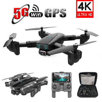 S167 RC Drone 4K HD 1080P 5G WIFI FPV drone GPS AI height to maintain Quadcopter RC distance 500m flight 20 minutes Camera Drone