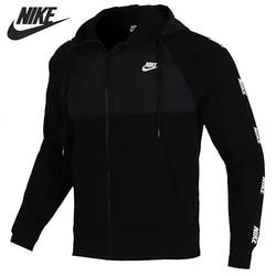 Nueva llegada Original NIKE M NSW CE HOODIE FZ BB HYBRID chaqueta de Hombre Ropa deportiva con capucha