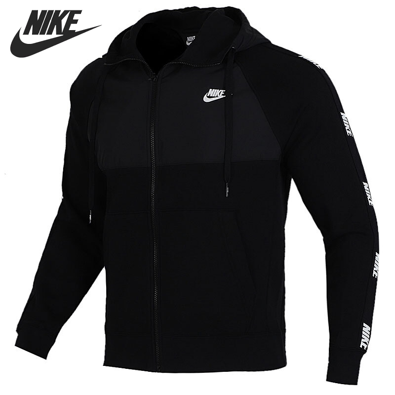 Original New Arrival  NIKE M NSW CE HOODIE FZ BB HYBRID Men's  Jacket Hooded  Sportswear