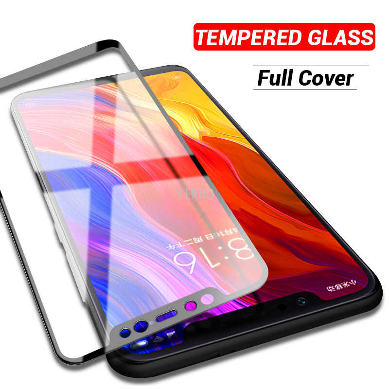 Protector Xiao mi 6 9 8 9T vidrio templado encendido para Xiaomi mi 8 Lite 8lite mi 9t mi 9 rojo mi Protector de pantalla Xio mi Xao mi Ksio mi película