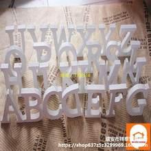 1PC lettera in legno di legno alfabeto parola in piedi festa di nozze matrimonio e fidanzamento festa di compleanno