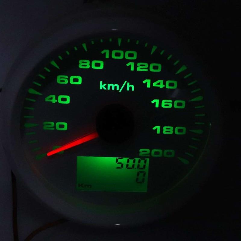 Image 2 - 85mm Digital GPS Speedometer Gauge 120km/h 200km/h Waterproof  Speed Gauges 7 Colors Backlight 12V 24V gps snelheidsmeterSpeedometers