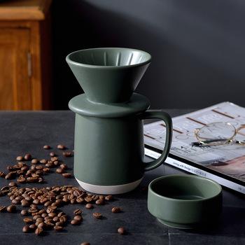 300ml ceramiczny ręcznie warzony filtr do filiżanki kawy kubek popołudniowa herbata kubek morfina kubek do mleka prezent biurowy kreatywny kubek kawy Percolators tanie i dobre opinie abay CN (pochodzenie) 400 ml Zaparzacze do kawy 1-19 Coffee cup Qualified products Ceramic European