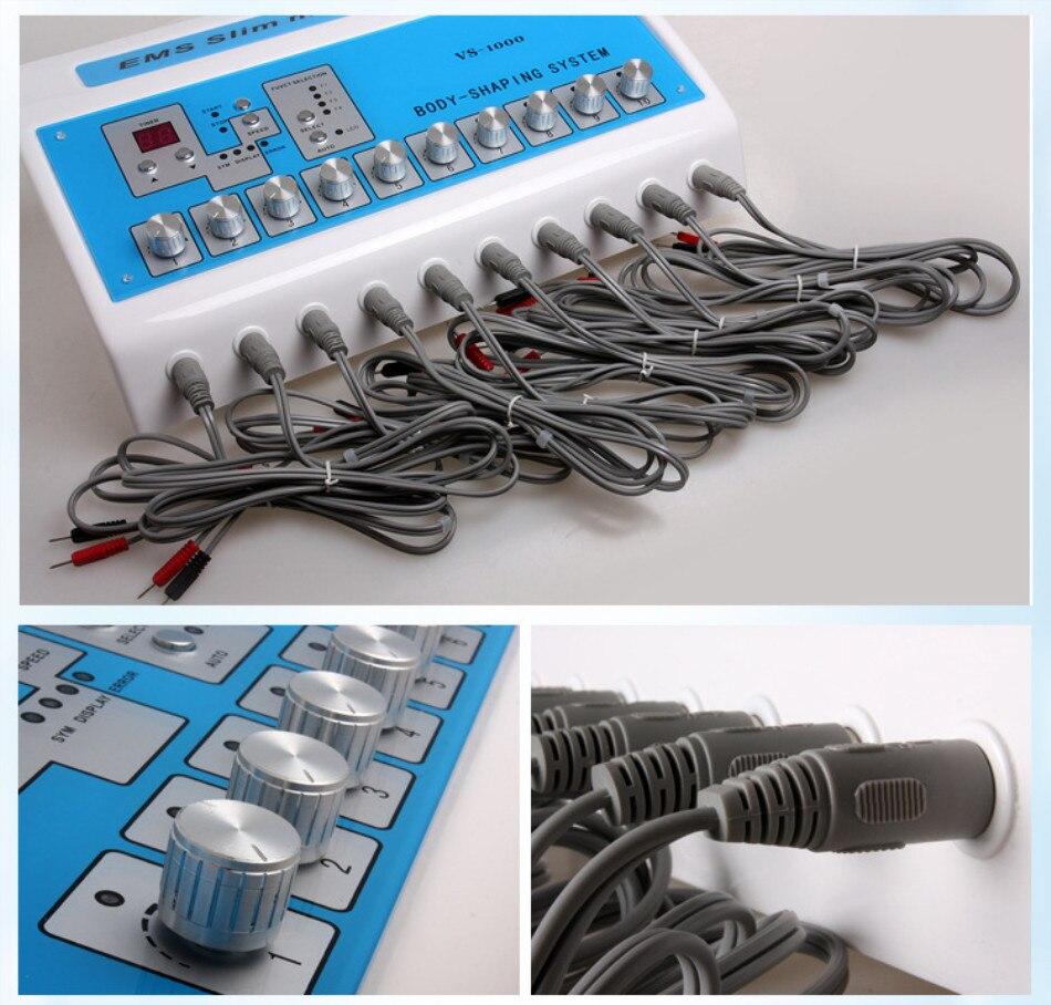 Nieuwe aankomst BIO Elektrische Therapie Ver Infrarood Verwarming Microcurrent Body Afslanken Gewichtsverlies borstvergrotende Machine - 3