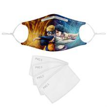 4Pcs PM2.5 Filter Gas Masks Carbon Insert Women Men Anti-dust Masks Washable Mask Reusable Face Mask Non-disposable Moth Mask