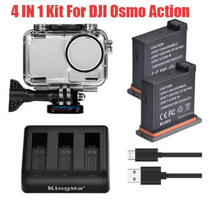 Protective-Housing-Case Dji-Accessories Action Lithium-Battery Dji Osmo Waterproof 3-Way-Charger