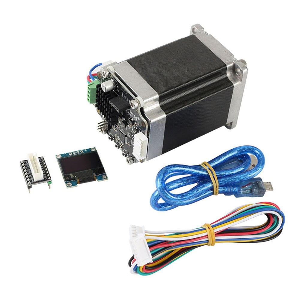 MKS SERVO57A 3D imprimante accessoires Stable développé haute vitesse contrôleur faible bruit affichage adaptateur plaque boucle moteur ensemble fermé
