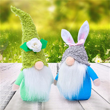 2PCS Spring Flowers Dwarf Gnome Plush Doll Stuffed Toy Mother's Day Gnomes Gift Cute Creative Cartoon Faceless Doll Plush Toys