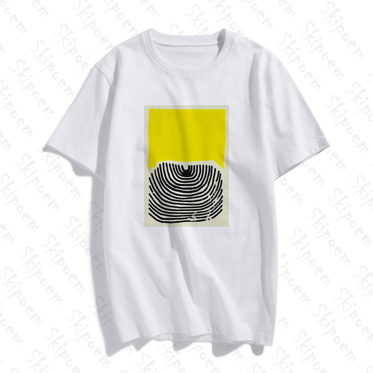 Colorful Modern Art Tshirt Women Kawaii Tumblr Korean Style Aesthetic Plus Size Cotton Short Sleeve Tee Shirt Femme Streetwear