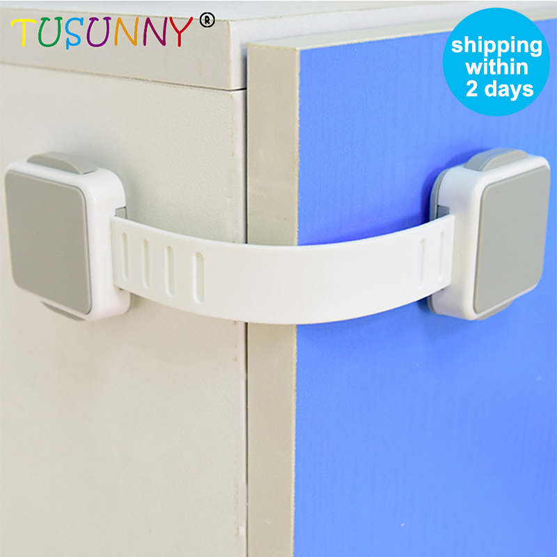 TUSUNNY Baby Safety Child Protection 1PC/3PCS Hot Sale Child Protection, Lock On The Cupboard  Cabinet Locks Baby Safety Lock