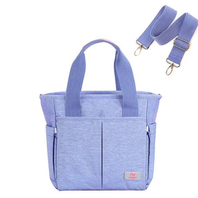 Multi-pocket Baby Nappy Diaper Bag Baby Nursing Bag for Stroller Fashion Maternity Zipper Handbag Shoulder Bag for Mother Mummy