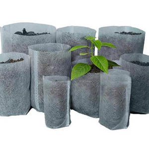 Nursery-Bags Garden-Supply Biodegradable Seedling Plant Non-Woven Fabric 100PCS for Different