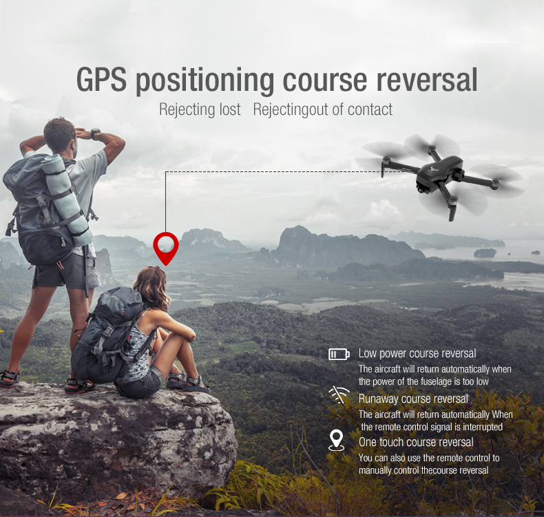 lowest price ZD6 720P 1080P HD Camera Live Video Drone GPS RC Drone FPV RC Helicopter Aircraft Headless Mode Optical Flow Remote Control Toys