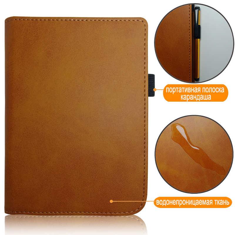 حافظة جلدية PU لجيب 616/627/632 6 ''حافظة كتب لكتاب pocketboocore lux2/touch/lux4 touch hd 3 جراب + هدية