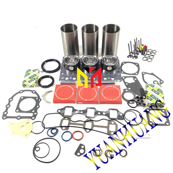 3D84 3D84-1 3D84-2 3D84-3 zestaw do odbudowy silnika z zaworem Overhual naprawa zestaw uszczelek do silnika ciągnika Komatsu tuleje cylindrowe tanie i dobre opinie CN (pochodzenie) Iron