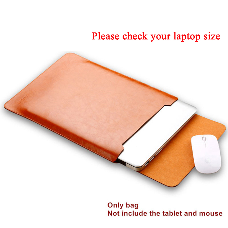 Sleeve For Lenovo ThinkPad X380 X390 Yoga X395 13.3 Inch For X280 12.5 Laptop Pu Cover Case Bag Fashion Notebook Pouch Gifts