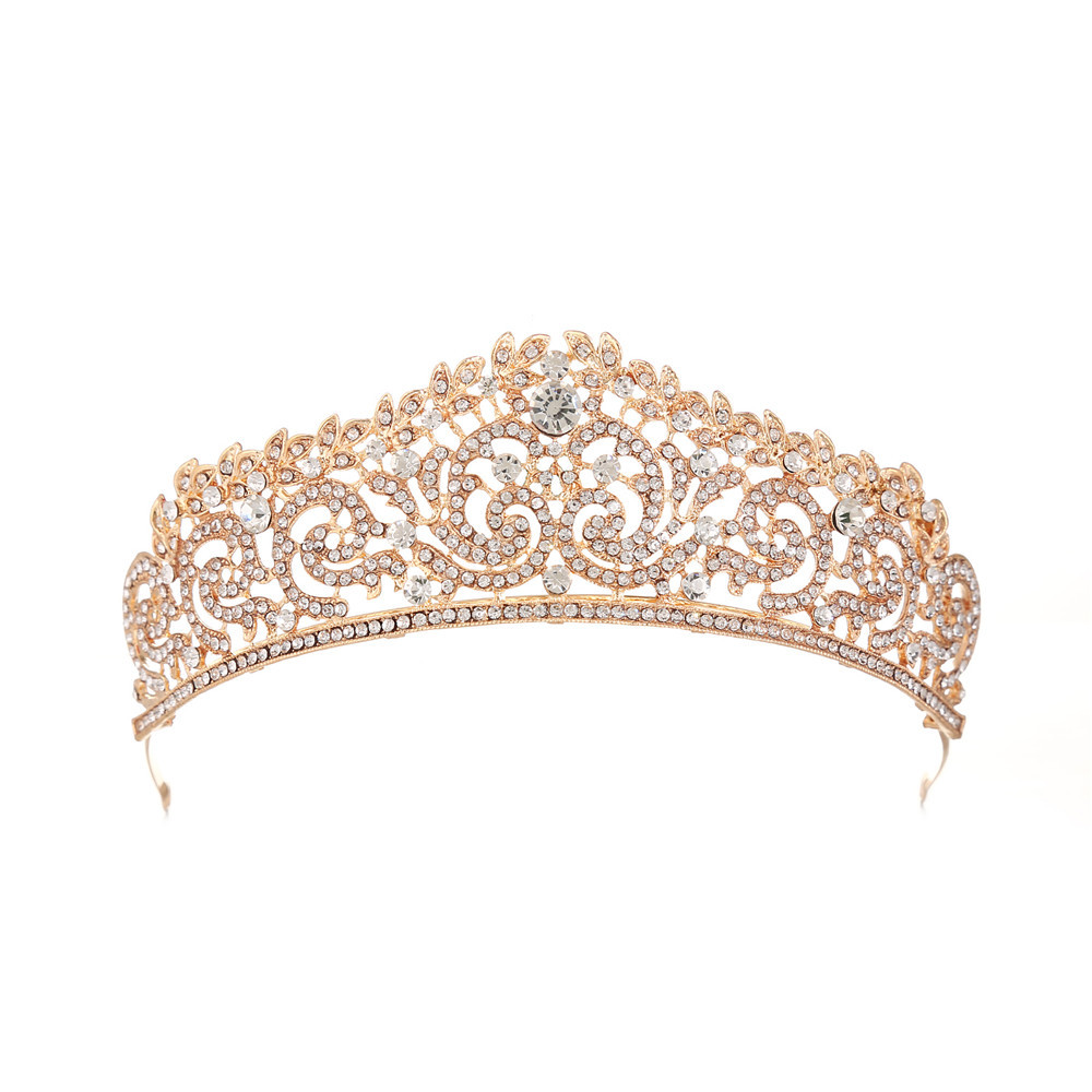 Noiva Broca Coroa Headband Do Partido Rainha