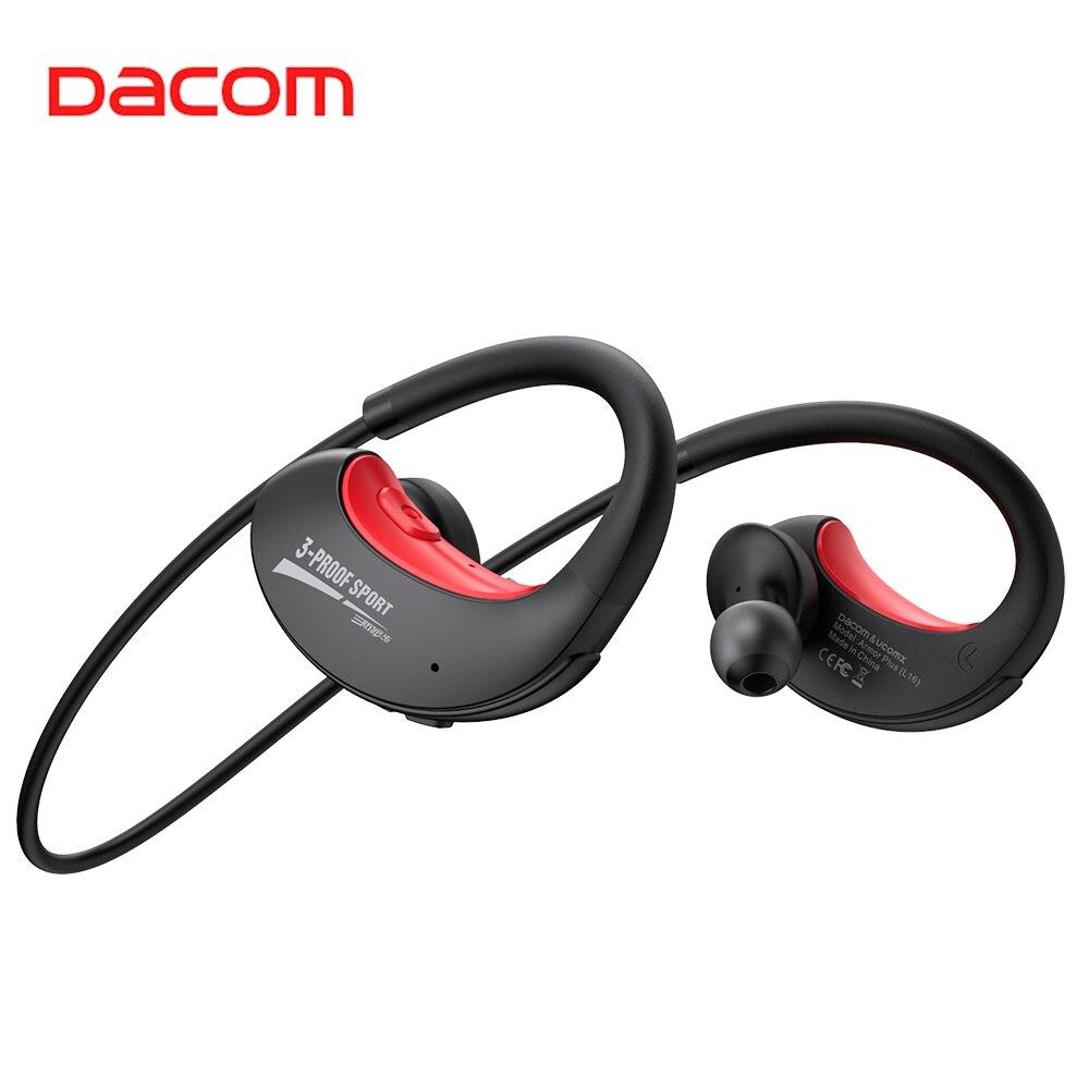 Спортивные Беспроводные наушники DACOM Armor Plus, водонепроницаемые наушники для бега, G06 Plus, Bluetooth 5,0, гарнитура для iPhone, Samsung, Xiaomi