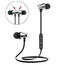 Magnetic Wireless Bluetooth Earphone Waterproof Sports Dwaterproof Stereo Earbud