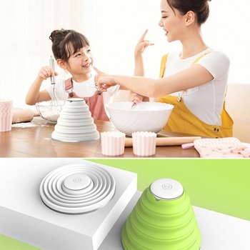 Children Baby Dry Heat Sterilizer Tableware Sterilizer USB Foldable Rechargeable UV Food Kids Multifunction Tableware Sterilize