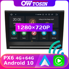 "PX6 4 + 64G 8 ""1280*720P אנדרואיד 10 מדיה רכב רדיו GPS Carplay עבור פורשה 911 997 קיימן 987 Boxster 987 997 מתיחת פנים 2005 2012"
