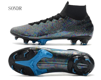 Sneakers Men Football Shoes Soccer Cleats Boots Long Spikes FG Spikes Training Custom Soft Indoor Turf Futsal Soccer Shoes 2020