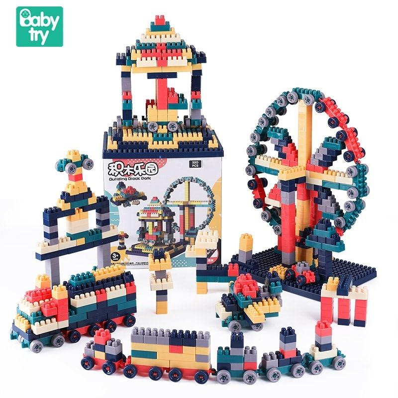 2019 Variedade Caixa De Armazenamento Criativo Educacionais Bricks DIY Building Blocks Brinquedos Juguetes Brinquedos para Presente de Crianças sobre 3 Anos