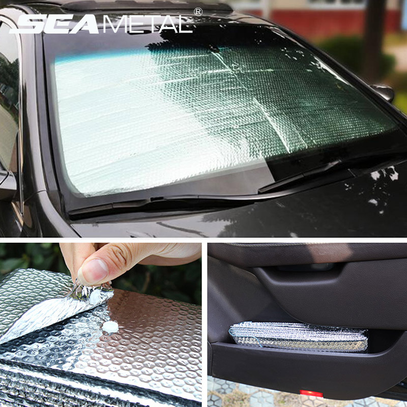 Car Sunshade Windshield Cover Uv-protective Front Windshield Sunshades Foldable Car Parasol Sun Visor Protector For Car Parking
