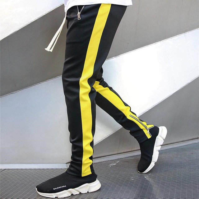 Mens Joggers Casual Pants Fitness Sportswear Tracksuit Sweatpants Trousers 2