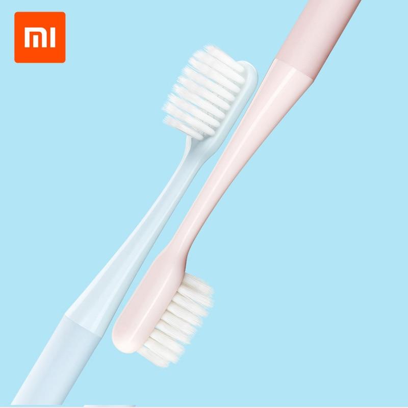 Original XIAOMI MIJIA Toothbrush Superfine Soft Bristle Toothbrush Waterproof Teeth Brush for Adults 2 Colors